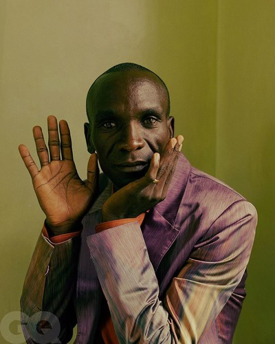 Eliud Kipchoge for GQ - © Sheriff & Post-Production