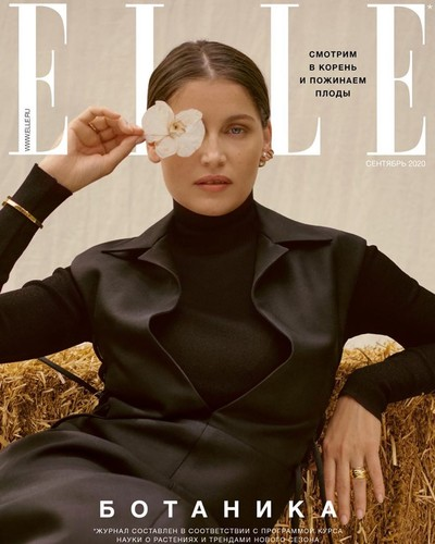 Laetitia Casta for Elle Russia - © Sheriff & Post-Production